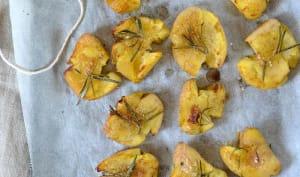 Pommes de terre écrasées au four