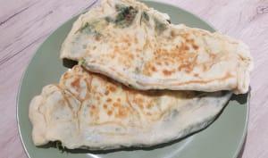 Gözleme épinards et fromage