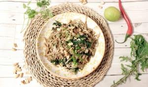 Pad Thai vegan au tofu et kale