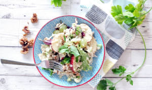 Salade Waldorf au tofu soyeux
