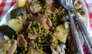 Sauté de veau aux légumes