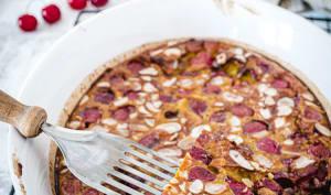 Clafoutis healthy aux cerises