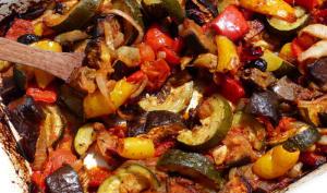 Légumes du soleil rôtis et confits au four