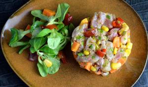 Ceviche de poisson à la patate douce