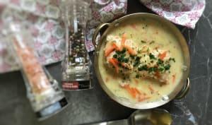 Waterzoï de saumon