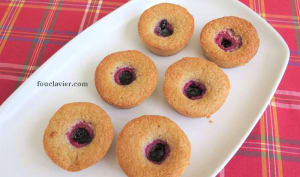 Biscuits aux framboises