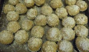 Petites bouchées à la cacahuète