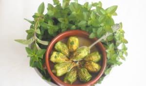 Fleur de courgette farcie féta et herbes