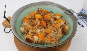 Salade de quinoa, butternut et poire