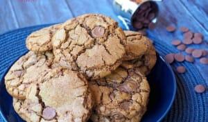 Cookies Chocolat et Huile de Lin