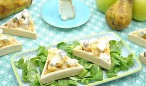 Tartelettes du verger au fromage