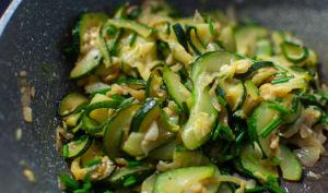 Poêlée de légumes sautés aux courgettes