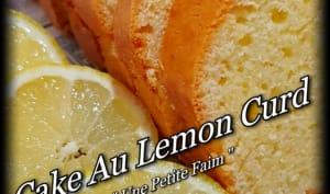 Cake au lemon curd