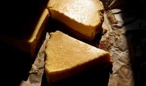 Cheesecake au safran