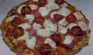 Pizza à la pâte à la courgette