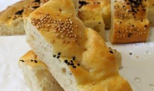 Turkish Pide bread.