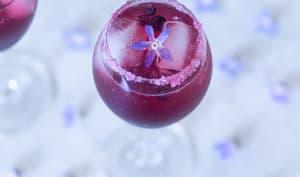 Cocktail au Crémant d'Alsace