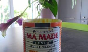 Marmelade anglaise d'oranges de Séville