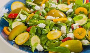 Salade de crudités d'été