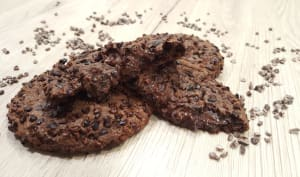 Cookies au chocolat et grué
