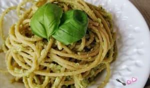 Crème pesto de brocoli et ricotta