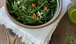 Poêlée de salicornes au persil et à l'ail