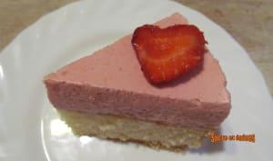 Gâteau Nuage aux fraises