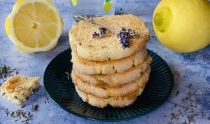 Sablés citron lavande et amandes