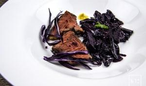 Picanha de Galice au chou rouge et au vin rouge