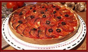 Tarte aux tomates et amandes