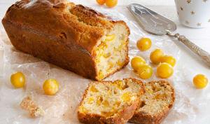 Cake mirabelles gingembre confit