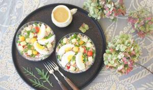 Salade de riz d'été