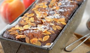 Cake aux pêches et nectarines