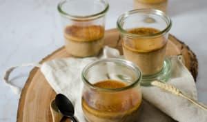 Crème dessert au chocolat et café