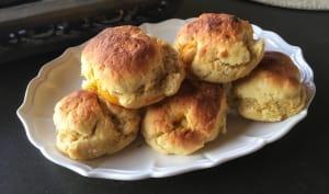 Biscuits moelleux aux abricots