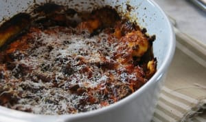 Gratin d'aubergine Parmigiana