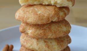 Cookies moelleux à la cannelle