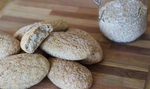 Petits pain minceur au son d'avoine