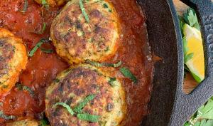 Croquettes de cabillaud à la sauce tomate