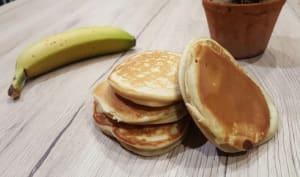 Pancakes express à la banane