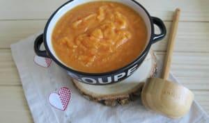 Soupe butternut, fenouil, poireaux et courgette