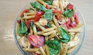 Salade de pâtes tomates mozzarella