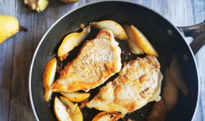 Filet de porc aux poires et au gingembre