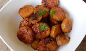 Patates douces à la plancha