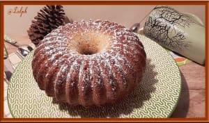 Gâteau au yaourt et pruneaux
