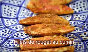 Filets de rouget au cumin