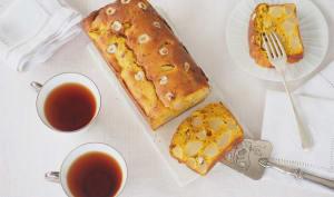Cake poire et potimarron aux noisettes