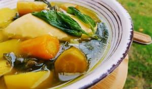 Soupe aux légumes de saison