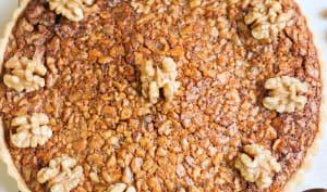 Tarte aux noix au sirop d'érable