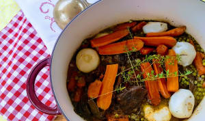 Ragoût de légumes à la viande à braiser